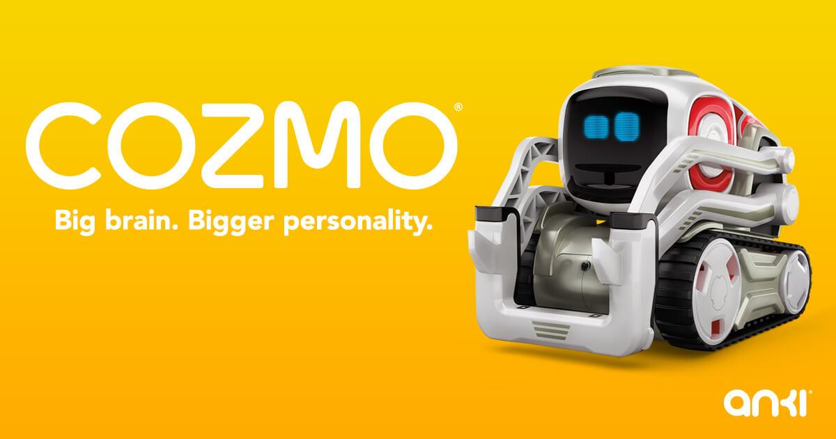 機械を超えて友達に!AIロボット「COZMO(コズモ)」