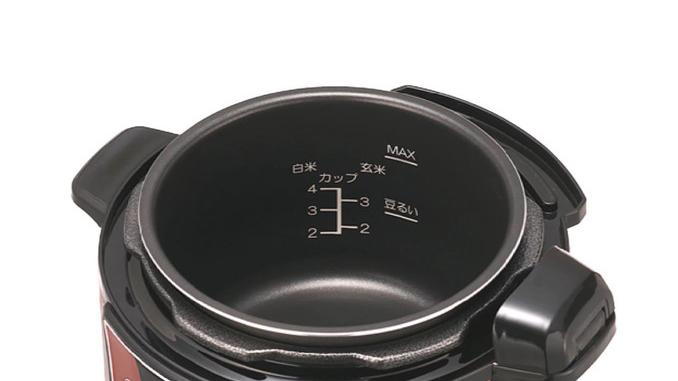 電気圧力鍋の内釜サイズ