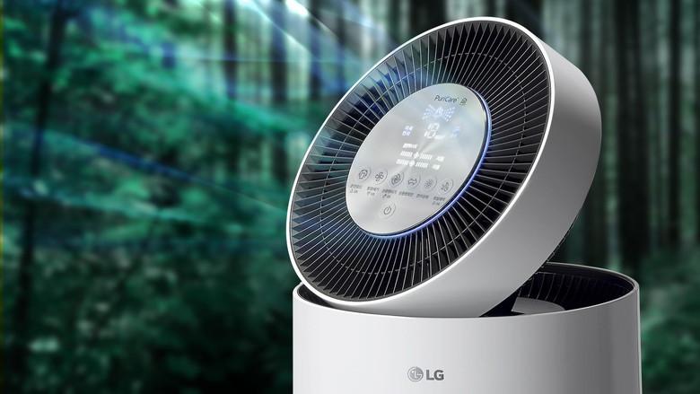 LGエレクトロニクス PuriCare™ 360˚空気清浄機の写真