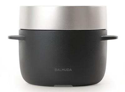 BALMUDA K03A-BK ブラック BALMUDA The Gohan (バルミューダ ザ・ゴハン) [炊飯器(3合炊き)]