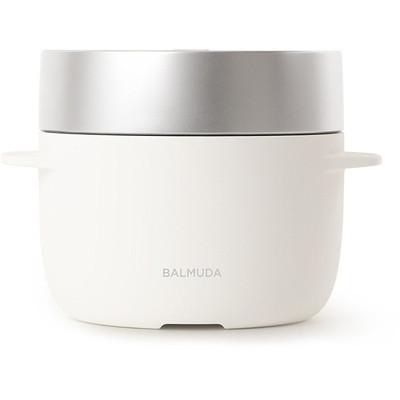 BALMUDA K03A-WH ホワイト BALMUDA The Gohan(バルミューダ ザ・ゴハン) [炊飯器 (3合炊き)]