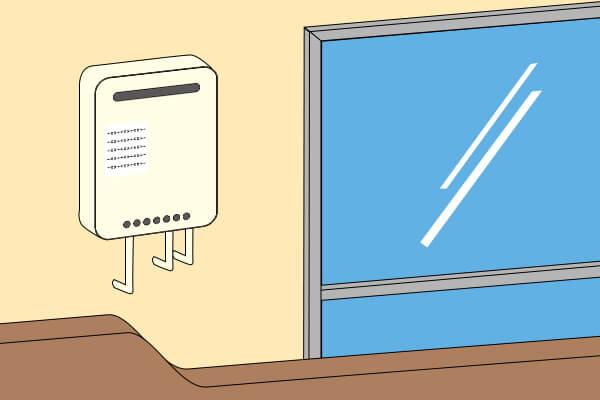 【集合住宅】壁掛け(ベランダ) or 玄関外の扉ボックス内