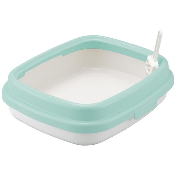 Richell NEWコロル ネコトイレ 48 水色