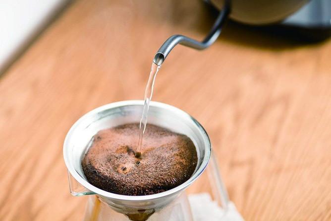 YKG-C800でドリップコーヒー