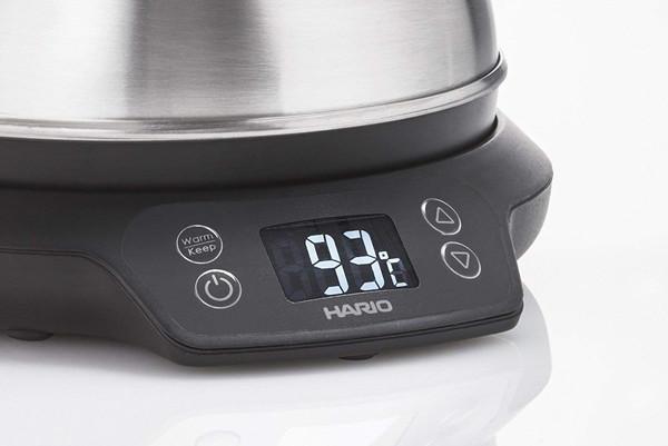 温度調節、保温ボタン