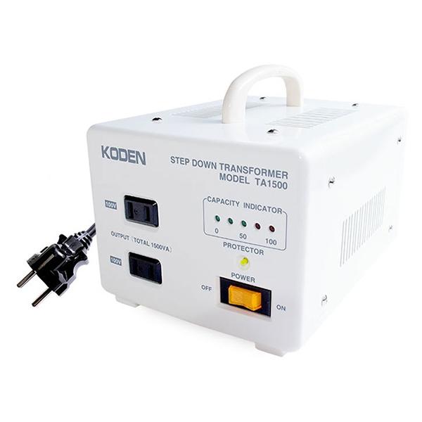 東京興電 TA-1500 [海外旅行用変圧器(220V~240V-100V)]