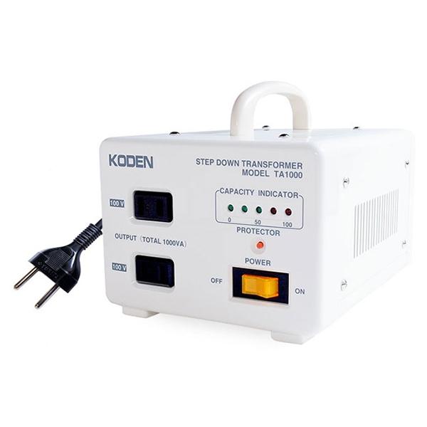 東京興電 TA-1000 [海外旅行用変圧器(220V~240V-100V)]