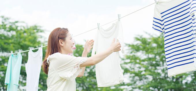 洗濯物、本当にきれいになっているのか疑問・・