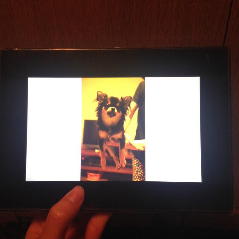 SDカードで写真を再生する