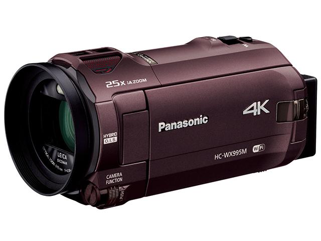おススメ最新機種②(パナソニックデジタル4KビデオカメラHC-WX995M)