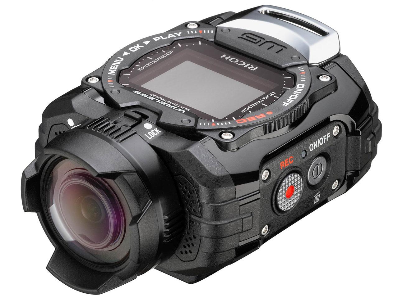 防水アクションカメラ RICOH  WG-M1
