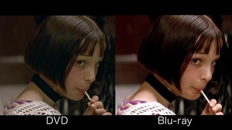 違い dvd ブルーレイ