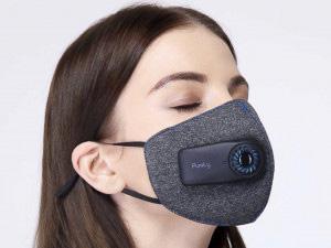 空気清浄機付きマスク