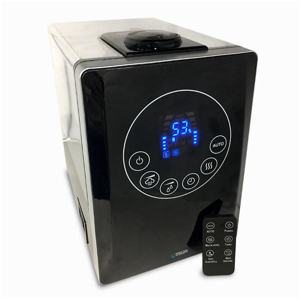maxzen KS-MX601-B ブラック[ハイブリッド式加湿器(木造8.5畳/コンクリ14畳まで)]