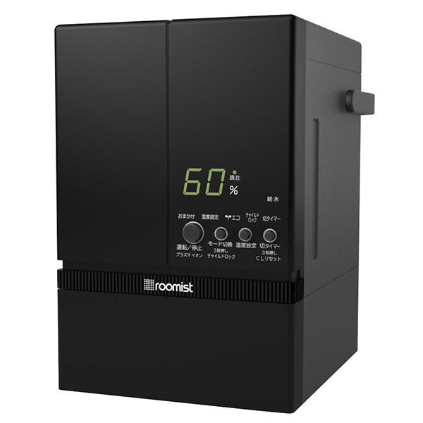 三菱重工 SHE60PD-K ブラック roomist [スチーム式加湿器(木造10畳/プレハブ洋室17畳まで) ]