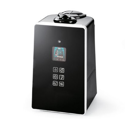 コイズミ ASH-601/K ブラック [ハイブリッド式加湿器 (木造8.5畳/コンクリ14畳まで)]