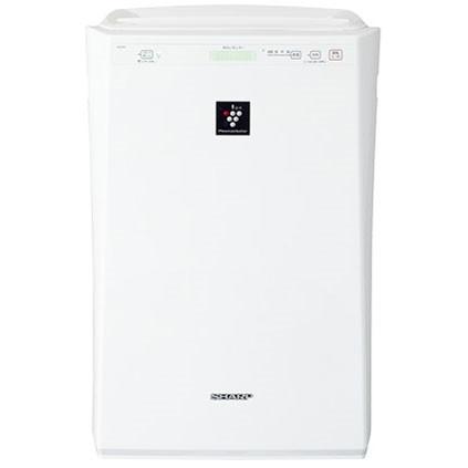 SHARP FU-F51-W ホワイト系 [空気清浄機(プラズマクラスター 14畳/空気清浄 24畳まで/PM2.5対応)]