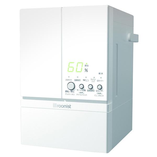 三菱重工 SHE60PD-W ピュアホワイト roomist [スチーム式加湿器(木造10畳/プレハブ洋室17畳まで) ]