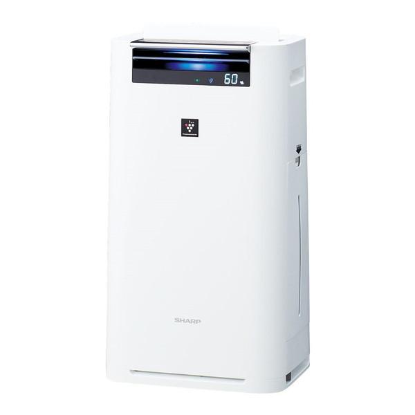 SHARP KI-GS50-W ホワイト系 [加湿空気清浄機 (空気清浄~23畳/加湿~15畳まで)]