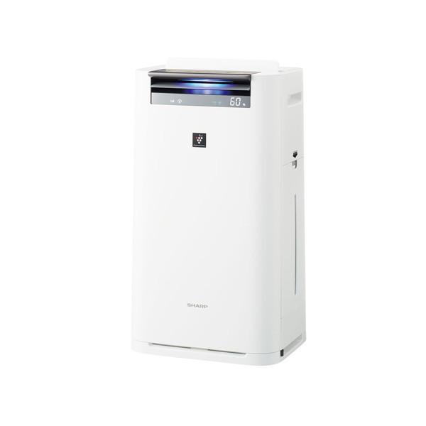 SHARP KI-HS70-W ホワイト系 [空気清浄機(空気清浄~31畳/加湿~18畳)]
