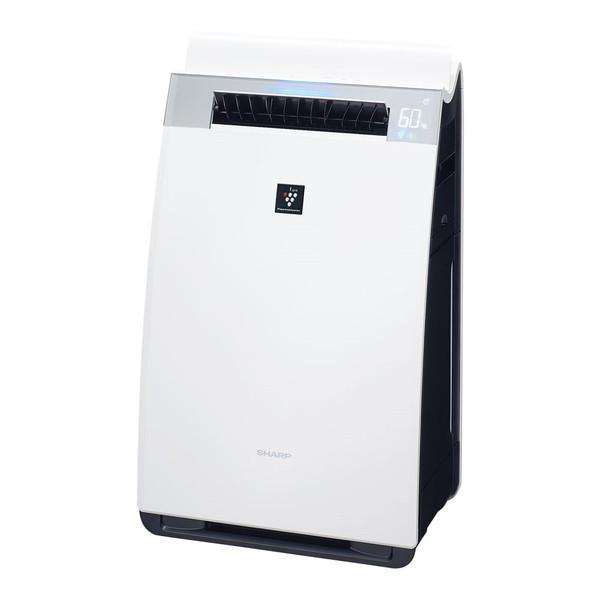 SHARP KI-GS70-W ホワイト系 [加湿空気清浄機 (空気清浄31畳/加湿18畳まで)]