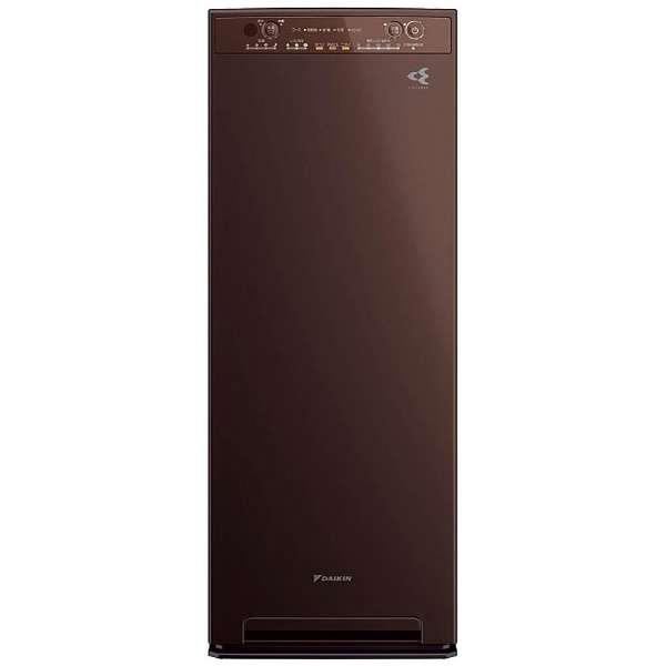 DAIKIN MCK55U-T ディープブラウン [加湿空気清浄機 (空気清浄~25畳/加湿~14畳まで)]