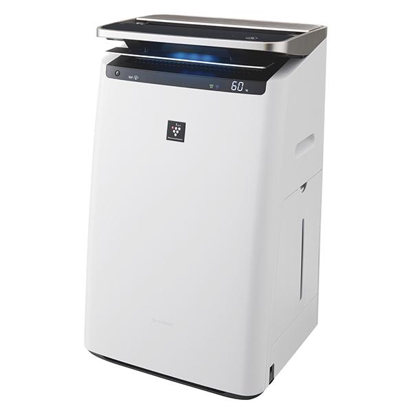 SHARP KI-HP100 ホワイト系 [加湿空気清浄機(空気清浄46畳/加湿26畳まで)]