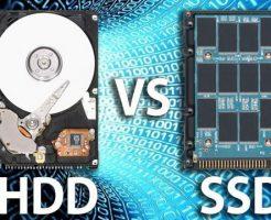 【性能比較2017】SSDとHDDはどうちがう?どう選ぶ?