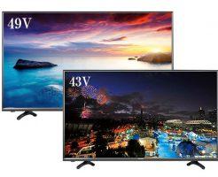 【新商品】格安液晶テレビ「ハイセンスの43型と49型」が新発売!