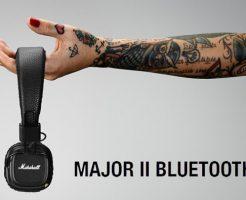 Marshallからワイヤレスヘッドホン「Major II Bluetooth」発売!