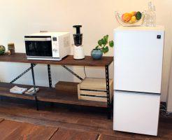 デザイン重視の冷蔵庫「SJ-GD14C」|デザイン性の高い家電が今のトレンド!