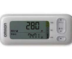 【新商品】omron アプリで健康管理できる活動量計 カロリスキャン!HJA-405T HJA-404