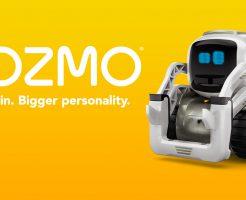 新しいお友達!映画から出てきたみたいなAIロボット「COZMO」がかわいすぎる!