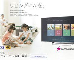 4Kテレビ シャープ「 アクオス」のポイント