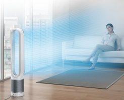 アレルギー対策に心強い扇風機:Dyson Pure Coolシリーズの効果