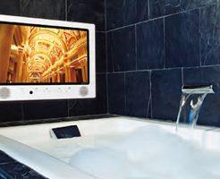 今からでもお風呂に設置OK!防水テレビの種類と選び方